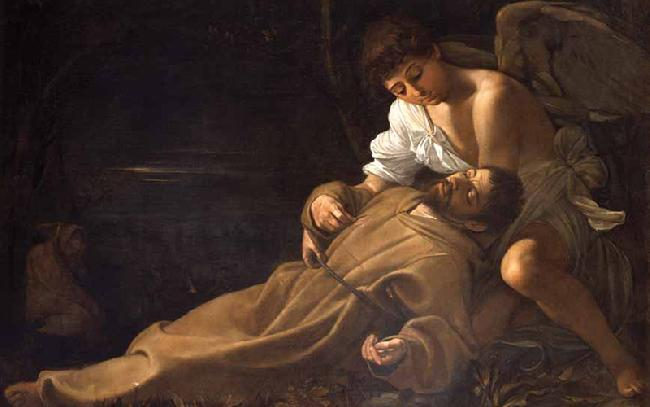 Caravaggio. The Stigmata of Saint Francis