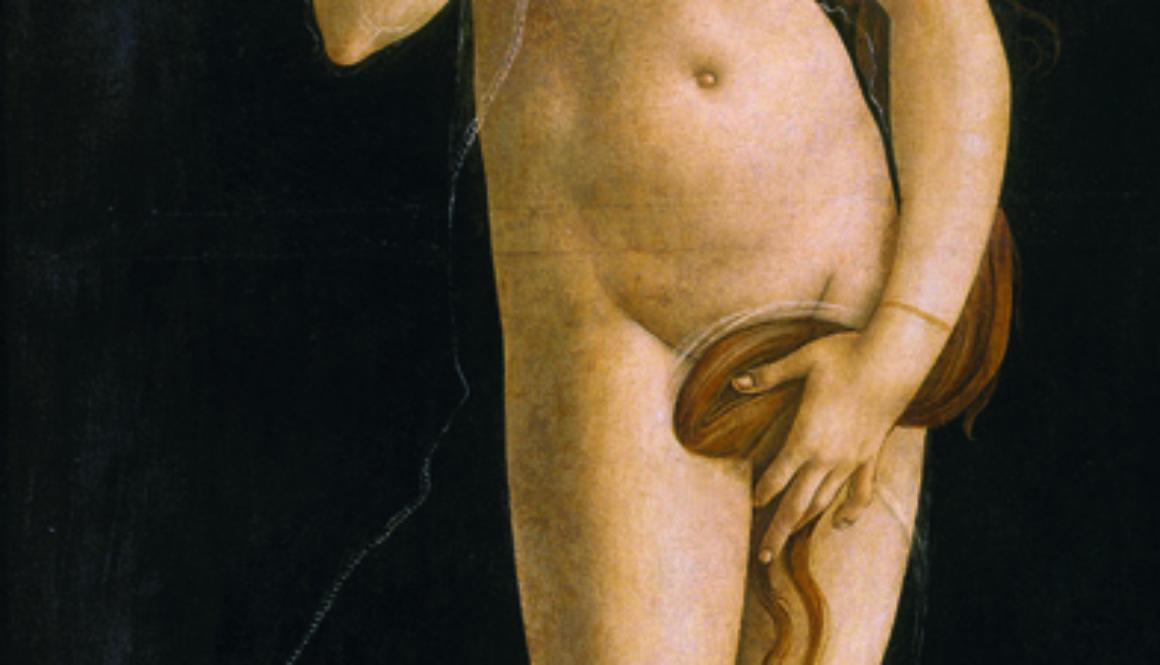 Sandro-Botticelli-e-bottega-Venere-pudica-1485-90-ca.-Tempera-e-olio-su-tavola-trasferita-su-tela-Torino-Musei-Reali-Galleria-Sabauda